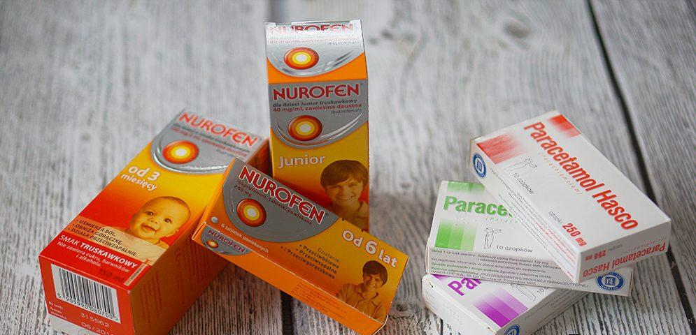 Postać leku askuteczność, czyli co wybrać? - Leczenie gorączki udzieci