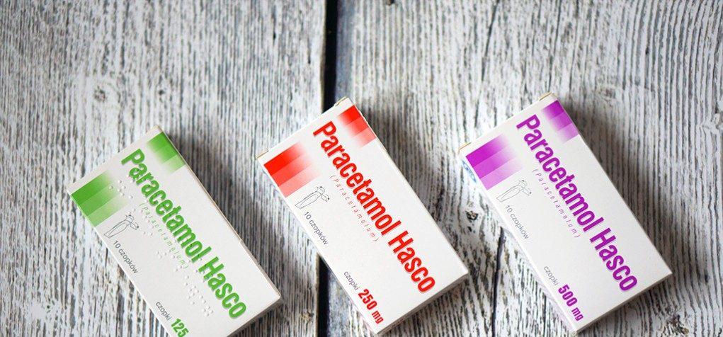 Postać leku askuteczność, czyli co wybrać? - Leczenie gorączki udzieci-czopki zparacetamolem