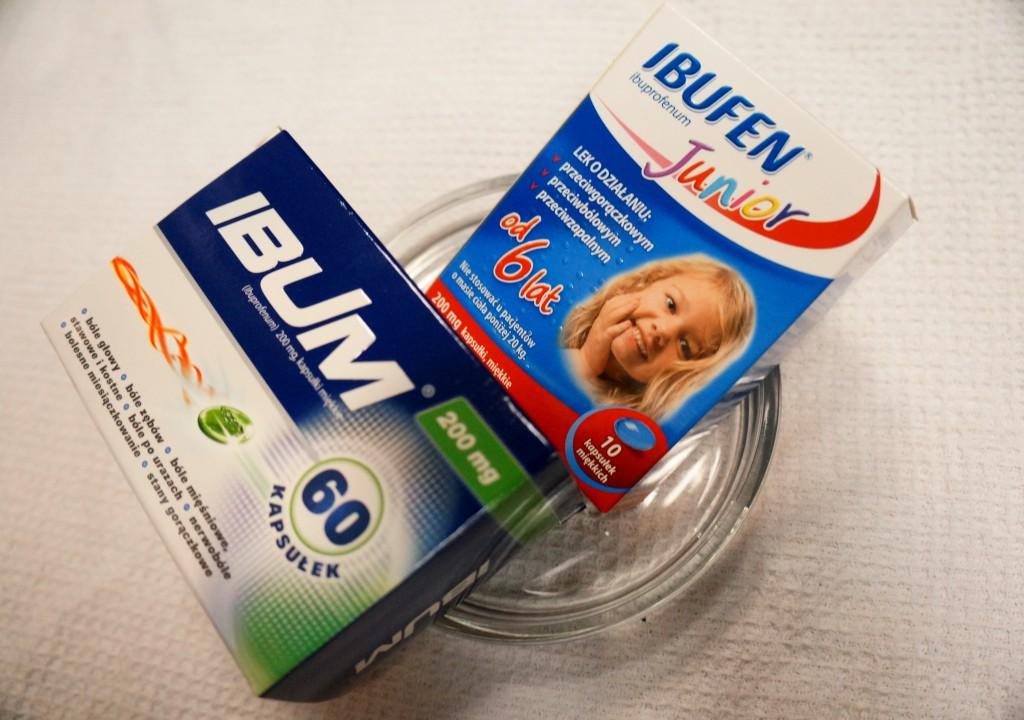 Postać leku askuteczność, czyli co wybrać? - Leczenie gorączki udzieci - ibuprofen