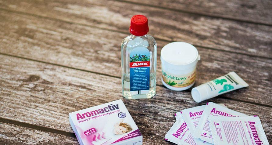 Zapalenie zatok – diagnostyka, leczenie, profilaktyka - Amol, Olejek pichtowy wżelu, Aromactiv