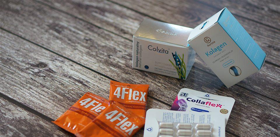Kolagen (nietylko) nastawy - Aurosa, Colway, 4FLEX, Collaflex